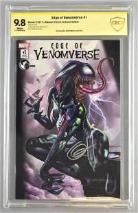 Signed CBCS Graded Marvel Comics Edge of Venomverse No.
