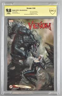 Signed CBCS Graded Marvel Comics Venom No. 160 comic