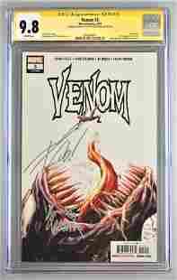 Signed CGC Graded Marvel Comics Venom No. 3 comic book