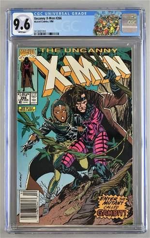 CGC Graded Marvel Comics Uncanny X-Men No. 266 comic
