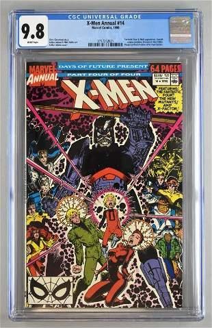 CGC Graded Marvel Comics X-Men Annual No. 14 comic book