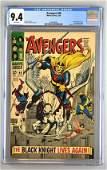 CGC Graded Marvel Comics Avengers No. 48 comic book