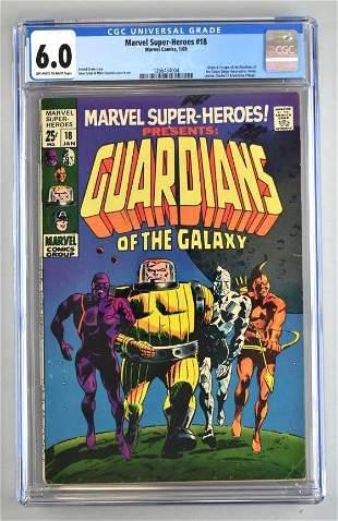 CGC Graded Marvel Comics Marvel Super-Heroes No. 18