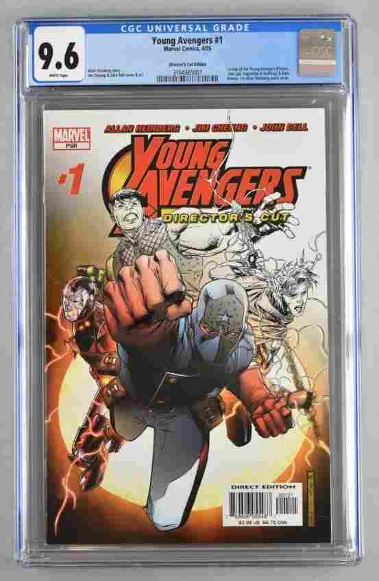 CGC Graded Marvel Comics Young Avengers No. 1 comic