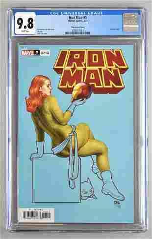 CGC Graded Marvel Comics Iron Man No. 5 comic book