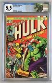CGC Graded Marvel Comics Incredible Hulk No. 181 comic