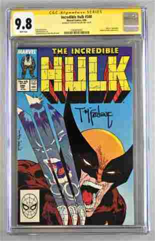 Signed CGC Graded Marvel Comics Incredible Hulk No. 340