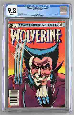 CGC Graded Marvel Comics Wolverine Limited Series No. 1