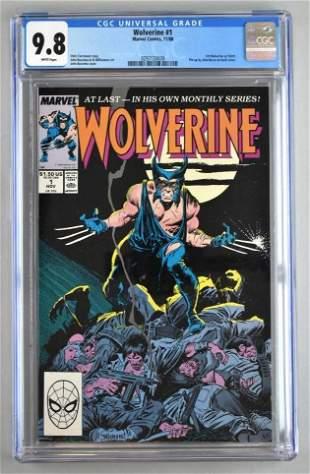 CGC Graded Marvel Comics Wolverine No. 1 comic book