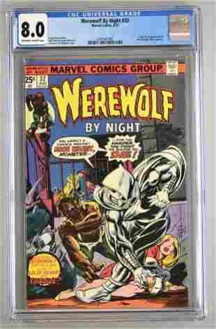 CGC Graded Marvel Comics Werewolf by Night No. 32 comic