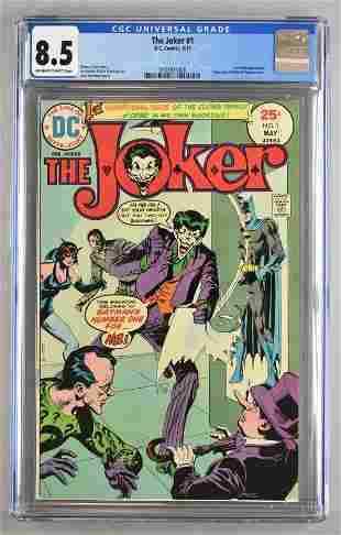 CGC Graded DC Comics The Joker No. 1 comic book