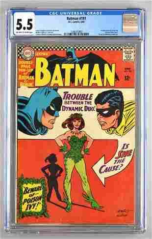CGC Graded DC Comics Batman No. 181 comic book