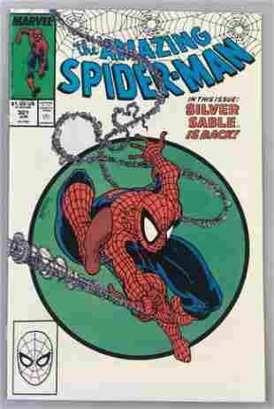 Marvel Comics The Amazing Spider-Man No. 301 comic book
