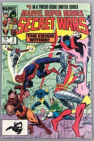 Marvel Comics Marvel Super Heroes Secret Wars No. 3
