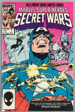 Marvel Comics Marvel Super Heroes Secret Wars No. 7