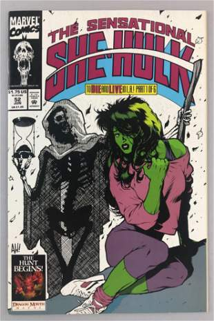 Marvel Comics The Sensational She-Hulk No. 52 comic