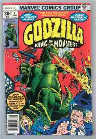 Marvel Comics Godzilla No. 1 comic book