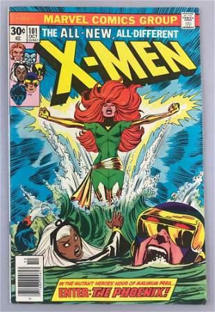 Marvel Comics X-Men No. 101 comic book