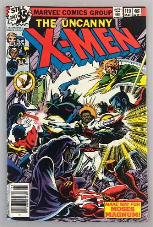 Marvel Comics X-Men No. 119 comic book