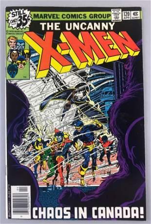 Marvel Comics X-Men No. 120 comic book
