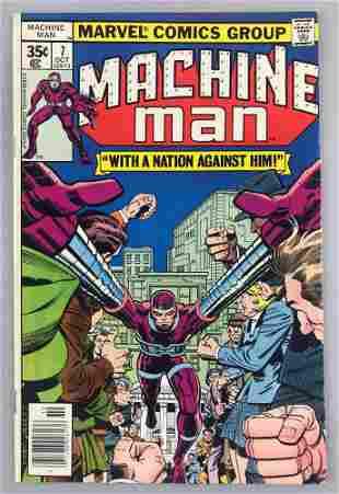 Marvel Comics Machine Man No. 7 comic book
