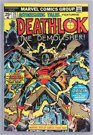 Marvel Comics Astonishing Tales feat. Deathlock No. 25