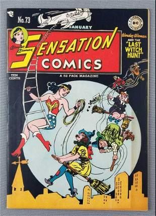 DC Sensation Comics Wonder Woman No. 73 comic book