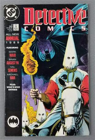 DC Comics Detective Comics annual No. 2 comic book