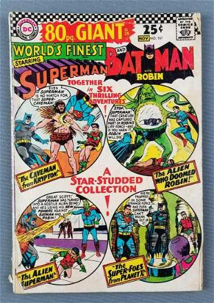 DC Comics Worlds Finest No. 161 comic book