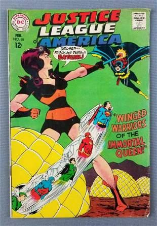 DC Comics Justice League of America No. 60 comic book