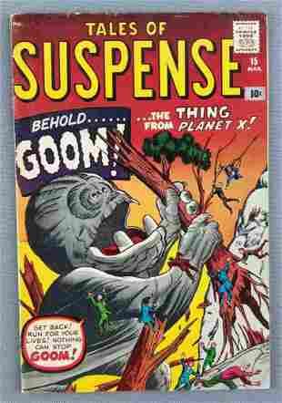 Tales of Suspense No. 15 comic book