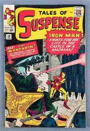 Marvel Comics Tales of Suspense No. 50 comic