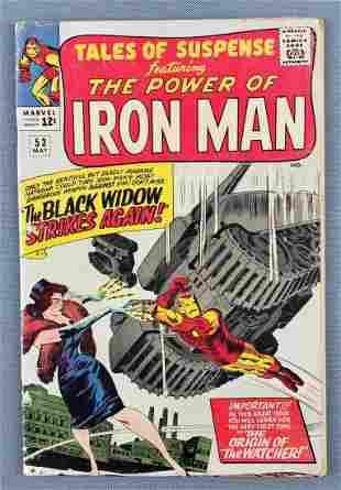 Marvel Comics Tales of Suspense No. 53 comic book