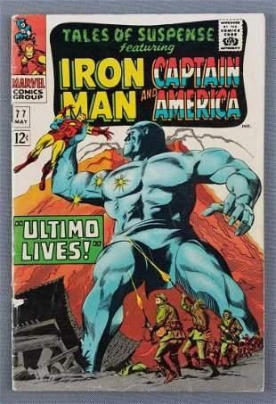 Marvel Comics Tales of Suspense No. 77 comic book