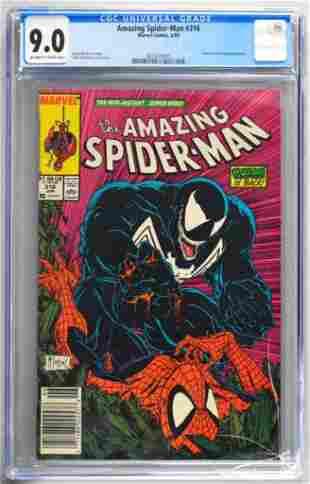 CGC Graded Marvel Comics Amazing Spider-Man No. 316
