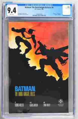 CGC Graded DC Comics Batman: The Dark Knight Returns