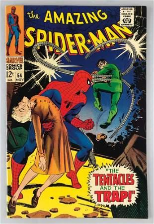 Marvel Comics The Amazing Spider-Man No. 54 comic book