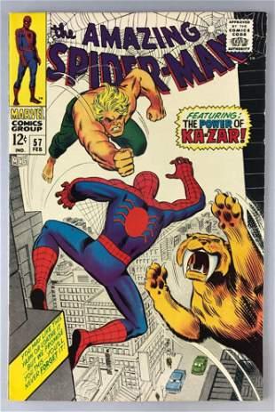 Marvel Comics The Amazing Spider-Man No. 57 comic book