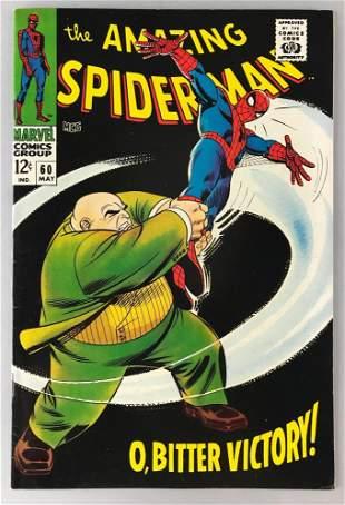 Marvel Comics The Amazing Spider-Man No. 60 comic book