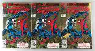 Group of 3 Marvel Comics The Amazing Spider-Man No. 375