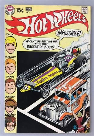 DC Comics Hot Wheels No. 2 comic book