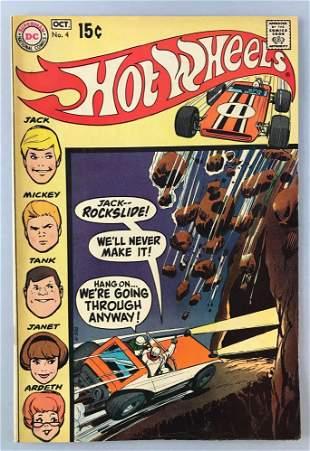 DC Comics Hot Wheels No. 4 comic book