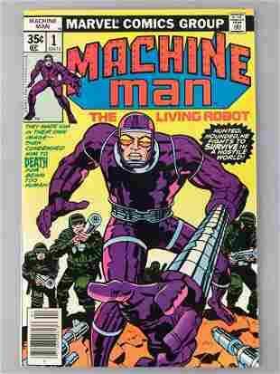 Marvel Comics Machine Man No. 1 comic book