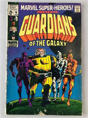 Marvel Comics Marvel Super Heroes Guardians of the
