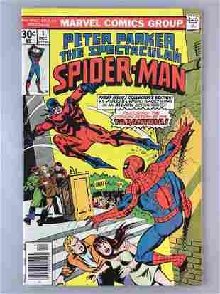 Marvel Comics The Spectacular Spider-Man No. 1 comic