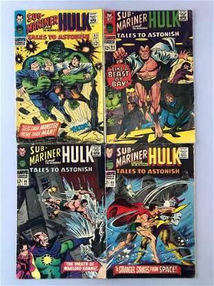 Group of 4 Marvel Comics Tales to Astonish comic books
