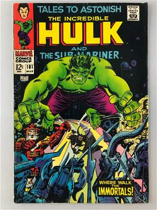 Marvel Comics Tales to Astonish No. 101 comic book