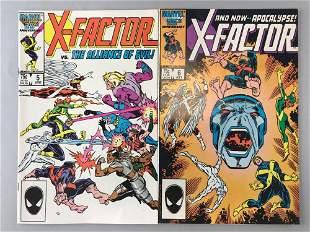 Group of 2 Marvel Comics X-Factor comic books
