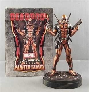 Deadpool Faux bronze statue