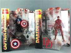2 Marvel Select Special Edition Action Figures